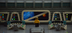 It's easy to get lost in the vastness of space... (Guy Smiley :-)) Tags: star trek lego space