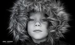My son (Jorn Idzerda) Tags: red ringlight blackandwhite black white monochrome portrait kidsportrait kids boy