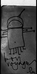 (lu.glue) Tags: lu luglue basel ble sticker kleber creature kreatur red black rot schwarz zeichnung gezeichnet handdrawn handmade drawn drawing dessin dessin disegno disegnato phantasie fantasy smile sourise lcheln