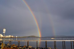 Rainbows over the Water (matlacha) Tags: rainbows weather storms thunder lightening nature landscape scenery sky