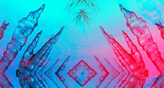 I C E (mckeenjohn32) Tags: ice glitch abstract distort distorted