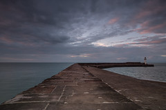Harbour Sunset1 (breddenphoto) Tags: whitehaven wanderlust whitehavenharbour water cumbria lakes lakedistrict england marina lighthouse pier seascape skies sunset clouds