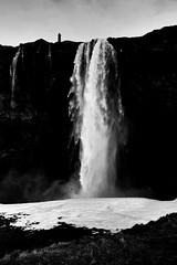 Yin and Yang (vol. 2) (FufBea) Tags: seljalandsfoss waterfall nature cascata islanda iceland man