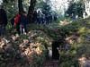 Les 6e1 ont visité le site de Hartmannswillerkopf ce matin.