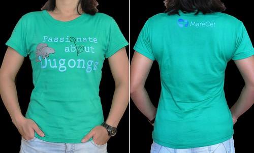 T-shirt_ladies (Passionate abt Dugongs)
