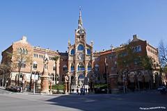 Hospital de la Santa Creu i Sant Pau (pniselba) Tags: barcelona spain espaa hospital hospitaldelasantacreuisantpau santacreuisantpau santpau