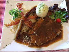 Bauernschmaus (oldhamburg) Tags: germanrestaurant oktoberfest oldhamburg roasts schnitzelhaus specials wurst