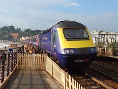 43193 Dawlish (1) (Marky7890) Tags: gwr 43193 class43 hst 1c04 dawlish railway station devon train