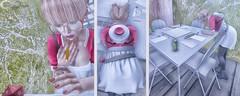 Zeno's Closet Look #63 (Zeno.Lynn) Tags: art photography fashion model 3d avatar pixel virtual secondlife sl catwa maitreya izzies fiasco momento fate besom table chairs light gamer game board