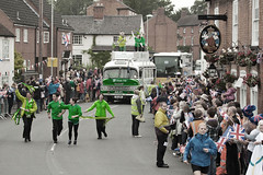Olympic Torch, Wymeswold (Jamarem) Tags: wymeswold leicestershire 2012 olympic torch