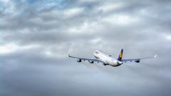 Lufthansa Airbus A343 D-AIGT (Kris SD) Tags: lufthansa airbus a343 daigt dus eddl a340 a340300 spotting dusseldorf