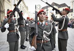 Exerziervorfhrung (Bundesheer.Fotos) Tags: bundesheer austrian army soldiers soldaten garde nft2016
