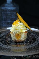 Cupcakes de mango natural y vainilla (No solo dulces) Tags: natural sweet pastel fresh fruta cupcake mango dulce receta fuit merienda vainilla