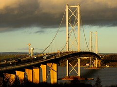Forth Road Bridge (Gerry Hill) Tags: road bridge water river scotland crossing harbour south north replacement forth firth queensferry