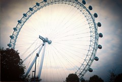 London adventures (laurawilton) Tags: london film londoneye trip35