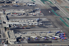 LAX terminal (Mark Harris photography) Tags: canon airport aircraft terminal planes lax spotting