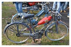 SIATA DUCATI Cucciolo (baffalie) Tags: old milan classic bike vintage italia expo retro motorbike moto italie ancienne fiera classicas