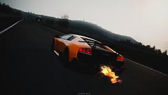 Lamborghini Murcielago SV LP670-4 (nbdesignz) Tags: wallpaper 6 hot sexy cars beautiful beauty car digital photoshop edited sony gimp gran turismo edit gt6 polyphony ps3 playstation3 photomode gtplanet nbdesignz