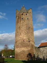 Fritzlar Grauer Turm IMG_0801 (martinfritzlar) Tags: fritzlar hessen nordhessen schwalmederkreis türme turm grauerturm deutschland germany