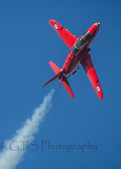 Red #2 (G&R) Tags: red canon eos hawk lincolnshire 300mm 7d arrows f4 raf scampton