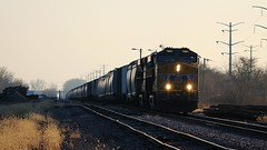 UP 7951 at Nelson, IL (Laurence's Pictures) Tags: train illinois pacific union rail railway transportation freight bnsf
