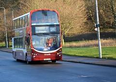 318 (Callum Colville's Lothian Buses) Tags: red bus buses edinburgh 26 gemini lothian madder lothianbuses gemini2 edinburghbus clermiston b9tl madderandwhite madderwhite busesedinburgh busesb9tl buseslothianbuses