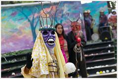 Masks street theatre @ Mexico City (Libertinus) Tags: mexico teatro mexicocity raw mask theatre masks mascara 6d mascaras tamron2470