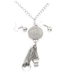 5th Avenue Silver Necklace P2230A-5