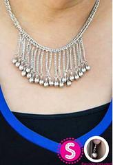 5th Avenue Silver K2 Necklace P2220-1