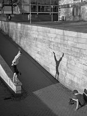 I can also...photograph ;) (O.Krger) Tags: people urban bw germany blackwhite streetphotography streetlife hannover sw monochrom bianconero socialdocumentary niedersachsen peopleinthecity schwarzweis monochromeaward