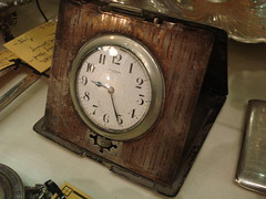 "STERLING SILVER STANDARD MAKE TRAVEL CLOCK • <a style=""font-size:0.8em;"" href=""http://www.flickr.com/photos/51721355@N02/16043971264/"" target=""_blank"">View on Flickr</a>"