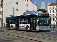 Mercedes Citaro II - STAN 295 (Pi Eye) Tags: bus mercedes stan nancy autobus cng e4 facelift gnv erdgas citaro o530 cugn grandnancy cgfte