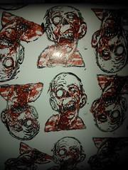 (andres musta) Tags: art sticker stickerart zombie stickers squad adhesive andres zas musta zombieartsquad