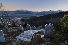 Bisalta (Framuss89) Tags: sunset canon italia tramonto mark madonna 1d alpini cuneo montagna f28 tombe santuario markiii 1116 bisalta lapidi canon1dmarkiii madonnadeglialpini tokina1116mmf28