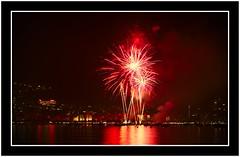 San Juan Fireworks in Roses (2014) (dvanzuijlekom) Tags: espaa june stars spain midsummer fireworks explosion catalonia girona sanjuan solstice rocket catalunya catalua gerona spanje vuurwerk 2014 santjoan altempord stjohnseve explosie hoguerasdesanjuan vuurpijl cataloni fogueresdesantjoan fiestadesanjuan canoneos5dmarkiii canonef70200mmf28lisiiusm pirotcniaigual sanjuansnight thenightofsanjuan