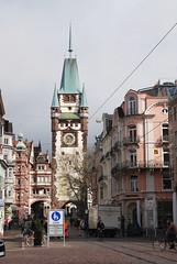 Freiburg Martinstor 1202, Vorstadtseite (Wolfsraum) Tags: freiburg martinstor kaiserjosephstrase vorstadtseite