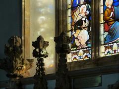 Lewknor, Oxfordshire (Oxfordshire Churches) Tags: uk england unitedkingdom churches stainedglass panasonic oxfordshire anglican cofe churchofengland mft lewknor micro43 microfourthirds lumixgh3 johnward