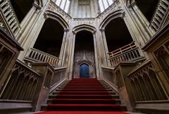 Margam House (technodean2000) Tags: park house castle wales nikon stair south case ceiling lightroom margam prk d5300