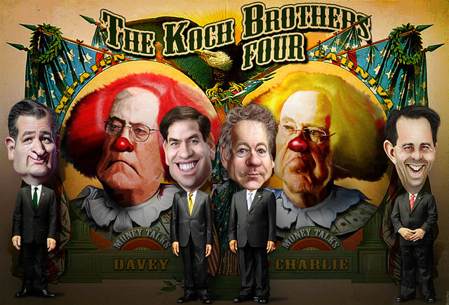 Koch Brothers Four