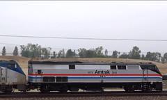Amtrak 145 Heritage Unit leading Southwest Chief (hupspring) Tags: railroad heritage train diesel engine loco amtrak locomotive southerncalifornia orangecounty anaheim placentia phaseiii phase3 passengertrain southwestchief p42 amtk amtk145 bnsfsanbernardinosub amtrak145