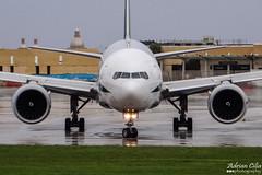 Alitalia --- Boeing 777-200ER --- EI-ISO (Drinu C) Tags: plane aircraft aviation sony boeing 777 dsc alitalia mla lmml hx100v eiiso adrianciliaphotography