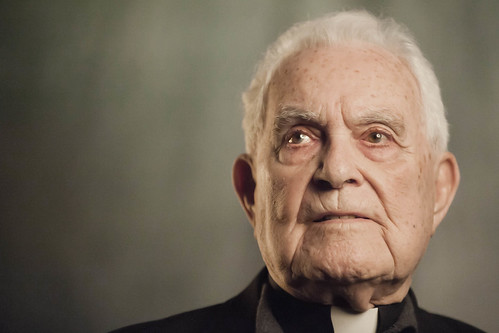 Fr. Theodore Hesburgh, whose unprecedented 35-year tenure as president of Notre Dame revolutionized the University, making him one of the most influential figures in higher education, and whose dedication to social issues brought him worldwide recognition