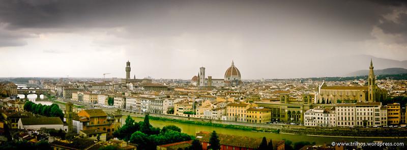 Florença - Itália-Panorâmica
