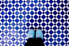 Feb 23 / so in love with Moroccan tile (Lindsay_NYC) Tags: blue tile morocco day54 day54365 365the2015edition 3652015 23feb15