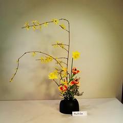 Machiko's ikebana