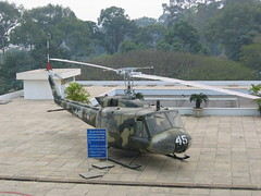 US Army Helicopter on Roof of Reunification Palace