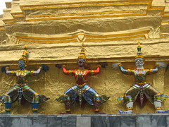 Guardian Demons Supporting Wat Phra Kaew