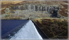 Caban-coch reservoir (WayShare) Tags: water dam reservoir valley elan footpath quarry overflow powys cabancoch
