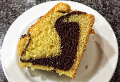 Ring Marble Cake-08 Feb 2015-(Week 06-2015) (Martyn Gill - IMAGES -731,000 Views - Thank You...) Tags: uk food cake dessert sweet westyorkshire otley gardencentre stephenhsmith samsunggalaxys4 hattiesrestaraunt martyngillimages2015 ringmarblecake