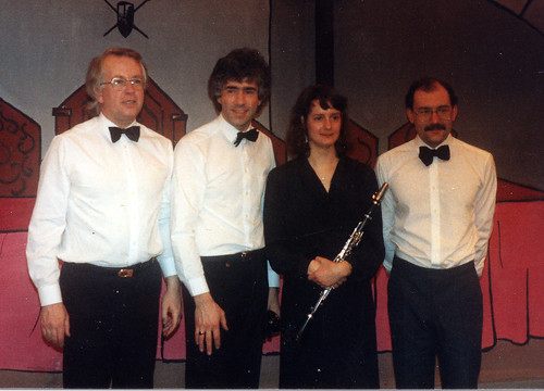 1987 Sleeping Beauty 13 (from left Richard Salt,Tony Carr,Isabel Lovatt,Brian Barber)